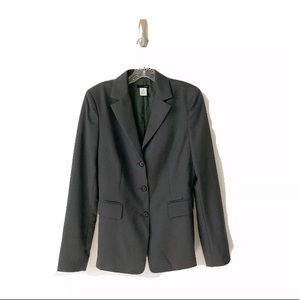 J. Crew Blazer Tall 6 100% Wool Gray/Green T6